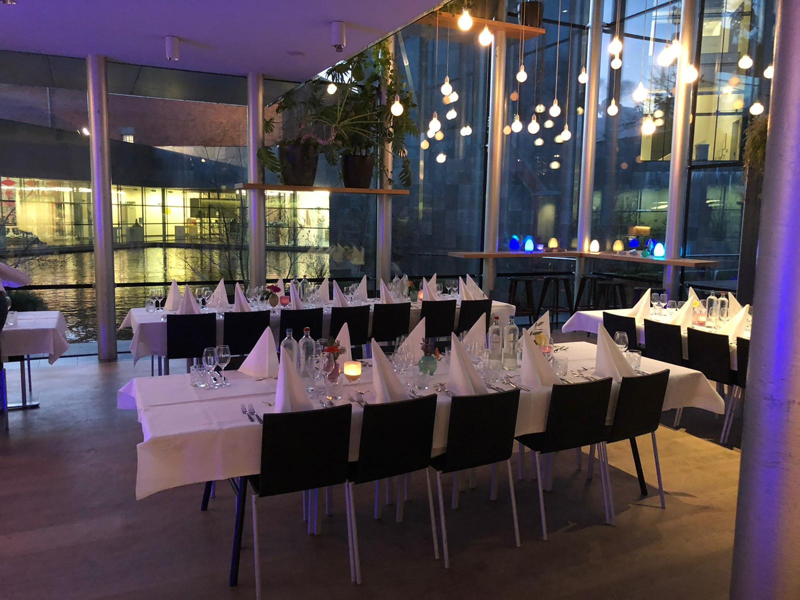 Diner arrangement groep Eindhoven